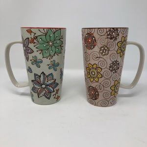 Gibson, 2 Fall 3-D Coffee Mugs